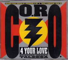 CO.RO. - 4 Your Love - CDM - 1993 - Eurodance Italodance Taleesa Panic Records