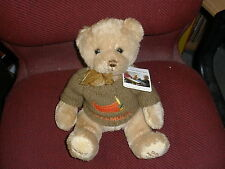 Grace Table Children's Plush Talking Mealtime Prayer Bear ~ with sweater