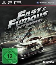 Sony PS3 Playstation 3 Spiel * The Fast & and und Furious Showdown ******NEU*NEW