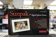 Sunpak 7 inch Digital Photo Frame (Color faded)