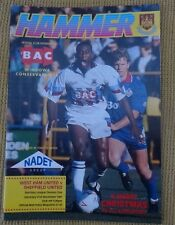 West Ham v Sheffield United, 21 December 1991