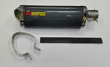 XTREME Akrapovic Triangle Carbon Racing Exhaust Silencer For All Bikes