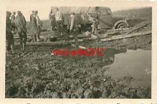 6 x Foto, Schlacht um Russland 41/42, Stellungen ausbauen, Wjasma