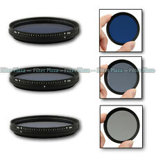 Fotga 67mm Slim Adjustable Variable Color Conversion Fader ND Blue Lens Filter