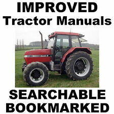 BEST Case IH 5120, 5130, 5140 Tractor Shop SERVICE Repair MANUAL - SEARCHABLE CD