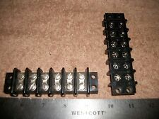 LOT OF KULKA TERMINAL BLOCK DUAL 6 CONNECTIONS! A