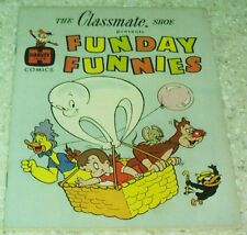 Funday Funnies Classmate Shoes Giveaway NN VF+ (8.5) 1961 Baby Huey, Herman, Kat