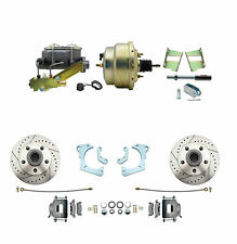 1965-68 Chevy Impala High Performance Disc Brake Kit With Power Brake Conversion