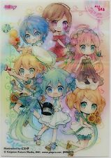 Hatsune Miku mini clear card collection 3 ensky #14 All vocaloid made in Japan