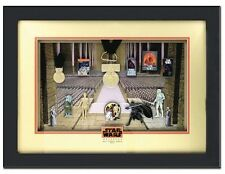 2014 Disney Star Wars Weekends Framed Pin Set w/ Completer Pins LE200 SOLD OUT!