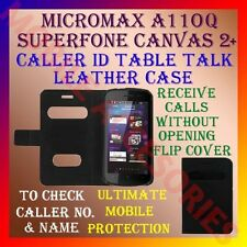 ACM-CALLER ID TABLE TALK CASE for MICROMAX A110Q SUPERFONE CANVAS 2 PLUS FLIP