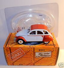NOREV HACHETTE CITROEN 2CV DOLLY ROUGE 1985 1/43 IN BOX