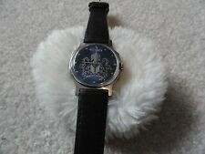 Men's Vintage Victoria Wind Up Watch with a Leather Band