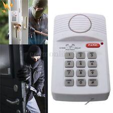 Sistema de Alarma Teclado Seguridad Antirrobo Cable Para Puerta Ventana Hogar