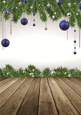 Vinyl Background for Baby Photo Props Merry Christmas Photography Backdrop 5x7FT