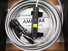 "CK TIG Torch Amperage Control LINCOLN Amptrak 10K 6 Pin 28"" cable+ FREE P&H"