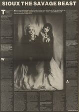 11/11/89Pgn14 Article & Picture 'sioux The Savage Beast' Squawk Of The Creatures