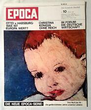 EPOCA Nr. 10 Oktober 1966 Eine Europäische Zeitschrift Kunst und Kultur