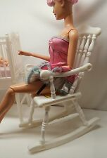 MATTEL HAPPY FAMILY ROCKING CHAIR ONLY~BARBIE FURNITURE FOR DIORAMA DISPLAY
