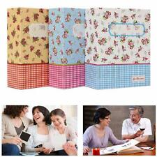 100 Photo 6'' Slip In Self Adhesive Photo Album Book Image Memory Scrapbook Gift