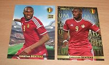 PANINI CARREFOUR LOT 32 53/180 - BELGIAN RED DEVILS TOUS ENSEMBLE - BENTEKE