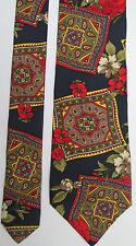 -AUTHENTIQUE  cravate cravatte KENZO    100% soie  TBEG  vintage