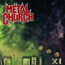 XI CD + 1 bonus METAL CHURCH ( FREE SHIPPING)