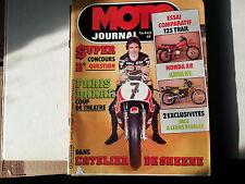 moto journal n443 17jan1980 essai 125 trail honda xr kawa ke sheene