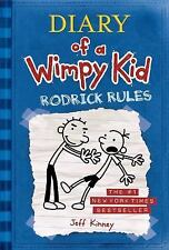 Diary of a Wimpy Kid: Rodrick Rules by Jeff Kinney (2008, Paperback)