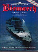 The Discovery of the Bismarck (sunken Nazi Battleship) Robert D. Ballard HC DJ