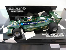 Minichamps 1:43 Carlos Reutemann Martini Lotus 79 F1 1979 race car