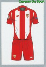 228 AWAY KIT SHIRT SEVILLA FC STICKER CHAMPIONS LEAGUE 2016 TOPPS