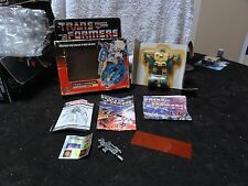 1985 Transformers Sealed Autobot Topspin MIB Box Misb #2