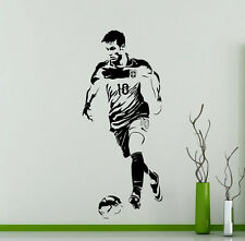 Neymar Wall Decal Barcelona Football Vinyl Sticker Art Decor Sports Mural 39ft