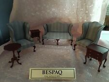 Doll House Bespaq  Fine Quality 6pc. Philadelphia Suite  CHairs Sette and Tables