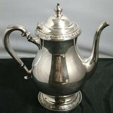 Antique International Silver Plate Teapot Tea Pot CAMILLE 6002 Polished, Nice
