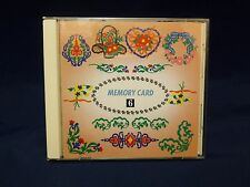 FLORAL Series #6 Memory Craft Embroidery Card JANOME New Home FAST SHIP 14 Desg.
