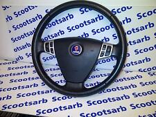 SAAB 9-3 93 Steering Wheel with SRS SPORT 2003 - 2010 12796743 4D 5D CV