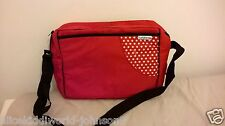 New Hauck baby nappy changing change bag+FREE changing mat iin Ladybird dots red