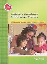 Building a Foundation for Preschool Literacy: Effective Instruction for Children
