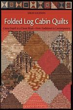 Folded Log Cabin Quilts: Create Depth In A classic Black, From Traditional to Co