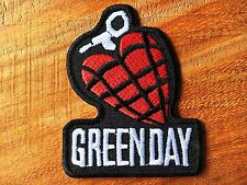 GREEN DAY American Rock Heavy Metal Band Logo Patch Iron on Jacket T Shirt