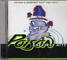 POISON - GREATEST HITS  - CD - NEW -