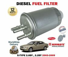 FOR JAGUAR X TYPE X400 2.0DT 2.2DT 2003-2009 NEW DIESEL FUEL FILTER