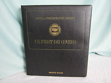 1972 US First Day Cover Stamps Book 28 Mint Stamp Postal Commemorative Society