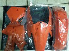 KIT PLASTICHE KTM SX 125 250 300 2005 2006 05 06 KIT 4 PZ COLORE ARANCIO