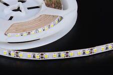 SMD2835 5m 120w 600 LED STRIP STRISCIA BIANCO CALDO CON ALIMENTATORE