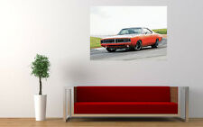 1969 DODGE CHARGER MOPAR NEW GIANT LARGE ART PRINT POSTER PICTURE WALL