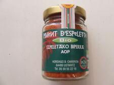 Piment d'Espelette biologique pot de 50 gr