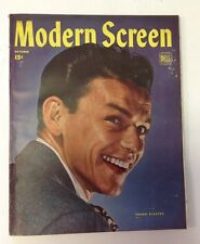 Modern Screen Magazine October 1945   Frank Sinatra Cover
